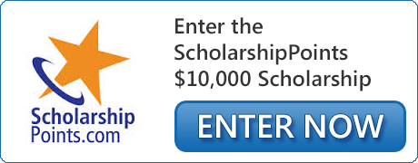 Enter the ScholarshipPoints $10,000 Scholarship