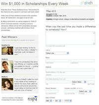 $1,000 for Three Sentences? Scholarship of the Week!