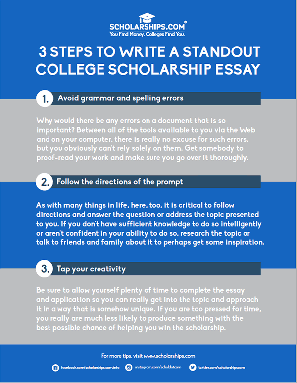 student resources com need some essay guidance follow these three simple steps in creating a winning scholarship essay