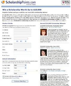 Win a Scholarship Surfing the Web