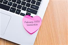 This year for Valentine's Day, Scholarships.com is spreading the love with the things which high school and college students love most: college scholarships. Give yourself the sweet gift of graduating college debt-free with this list of February 2020 Scholarships - including scholarships for high school students and college student scholarships. Or, you can conduct a scholarship search to be matched to a personalized list of scholarships in a heartbeat.