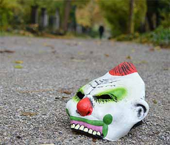 Image For Creepy Clowns Cause Campus Consternation