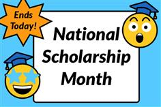 November is nearly over, which means National Scholarship Month is winding down. When it comes to finding scholarships online, students all across the country are discovering how easy it is to get matched to vetted scholarship opportunities at Scholarships.com. Creating a student profile, discovering your customized scholarships matches and finding new opportunities daily couldn't be easier. Plus, like any legitimate scholarship site, Scholarships.com is 100% free. This Cyber Monday, take a break from online shopping and spend some time applying to these end-of-National Scholarship Month scholarships at Scholarships.com! Your college financial aid opportunities are just around the corner.