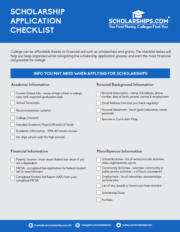 image relating to Printable College Application Checklist named Educators -